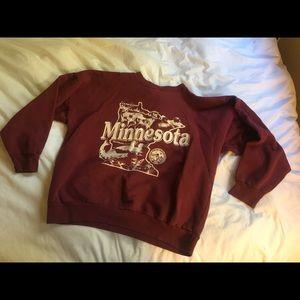 Vintage Minnesota sweatshirt